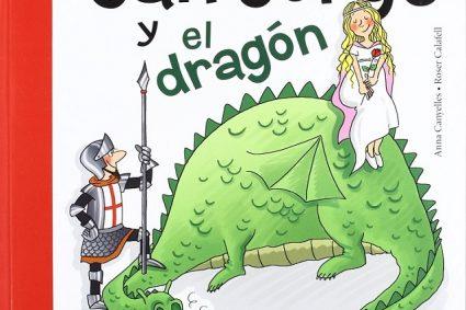 Día del Libro y San Jorge, Sant Jordi, contada para niños